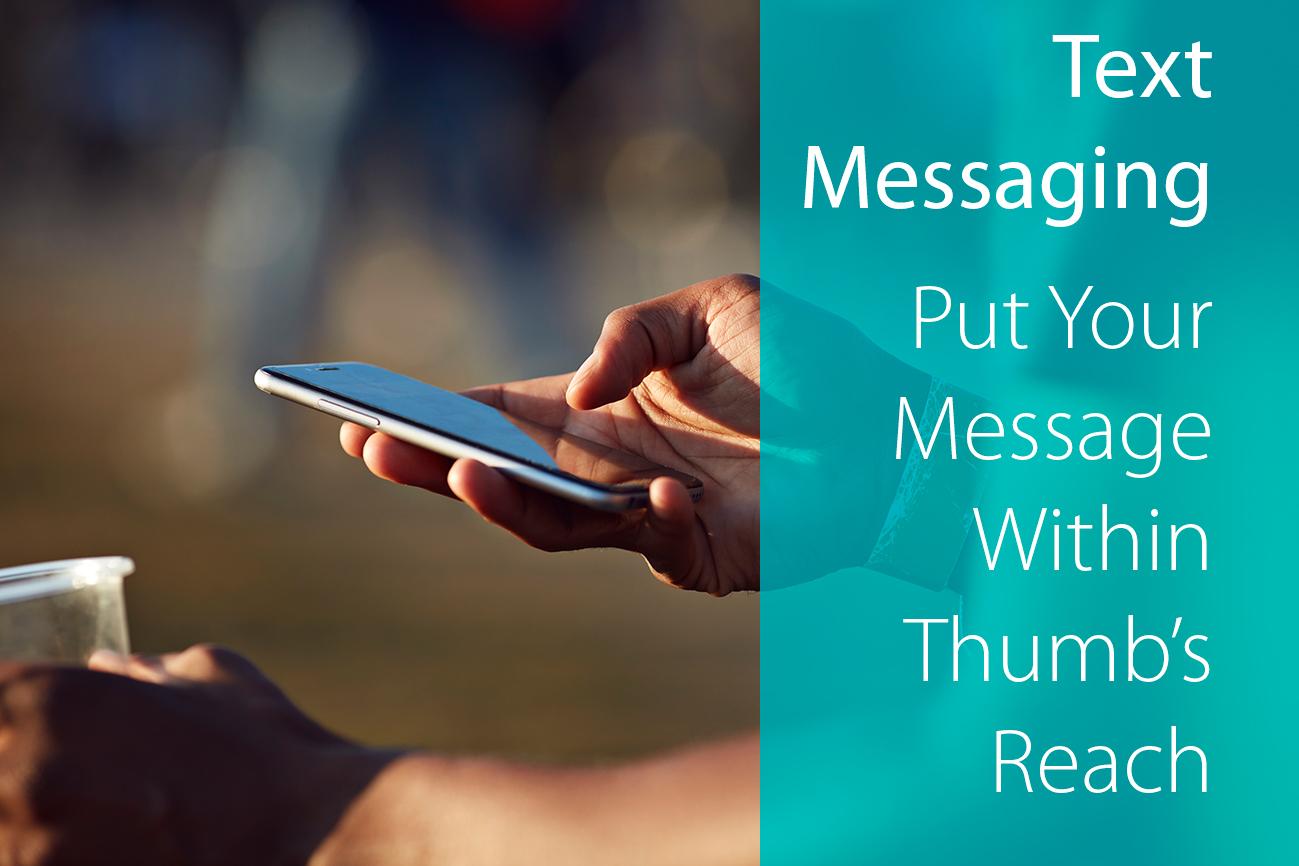 Text messaging thumb