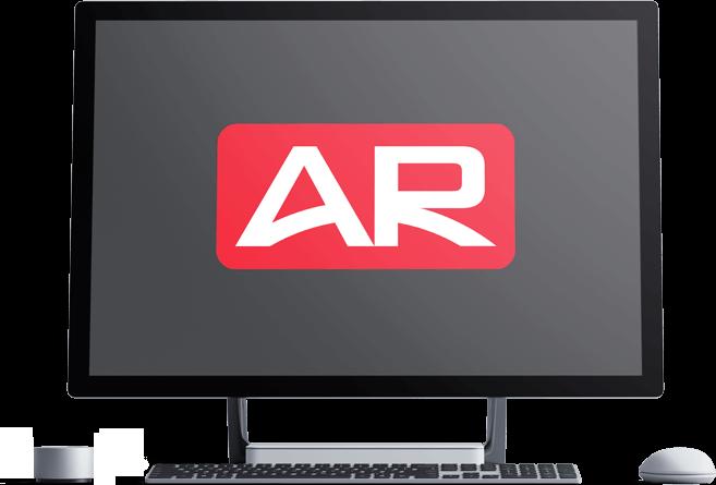 illustration of computer monitor