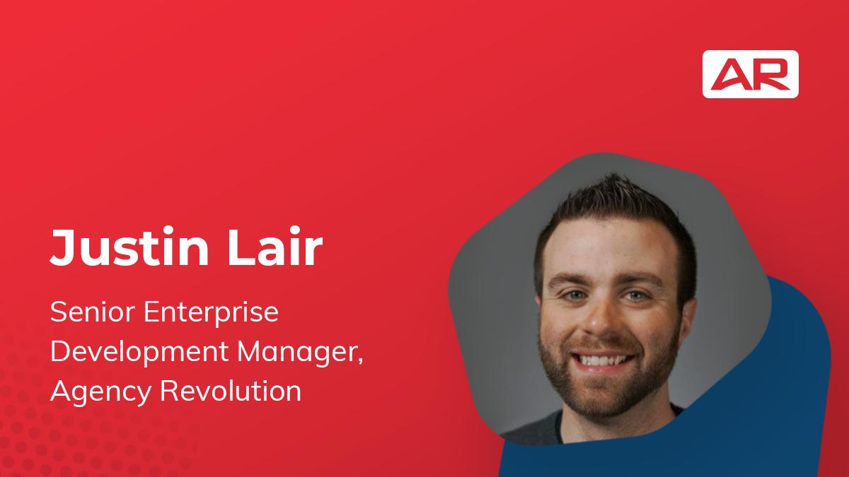 Justin Lair, Senior Enterprise Development Manager, Agency Revolution on the Connected Insurance Podcast