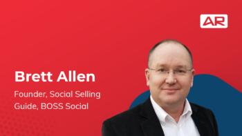 Brett Allen, Founder, Social Selling Guide, BOSS Social on the Connected Insurance Podcast presented by Agency Revolution