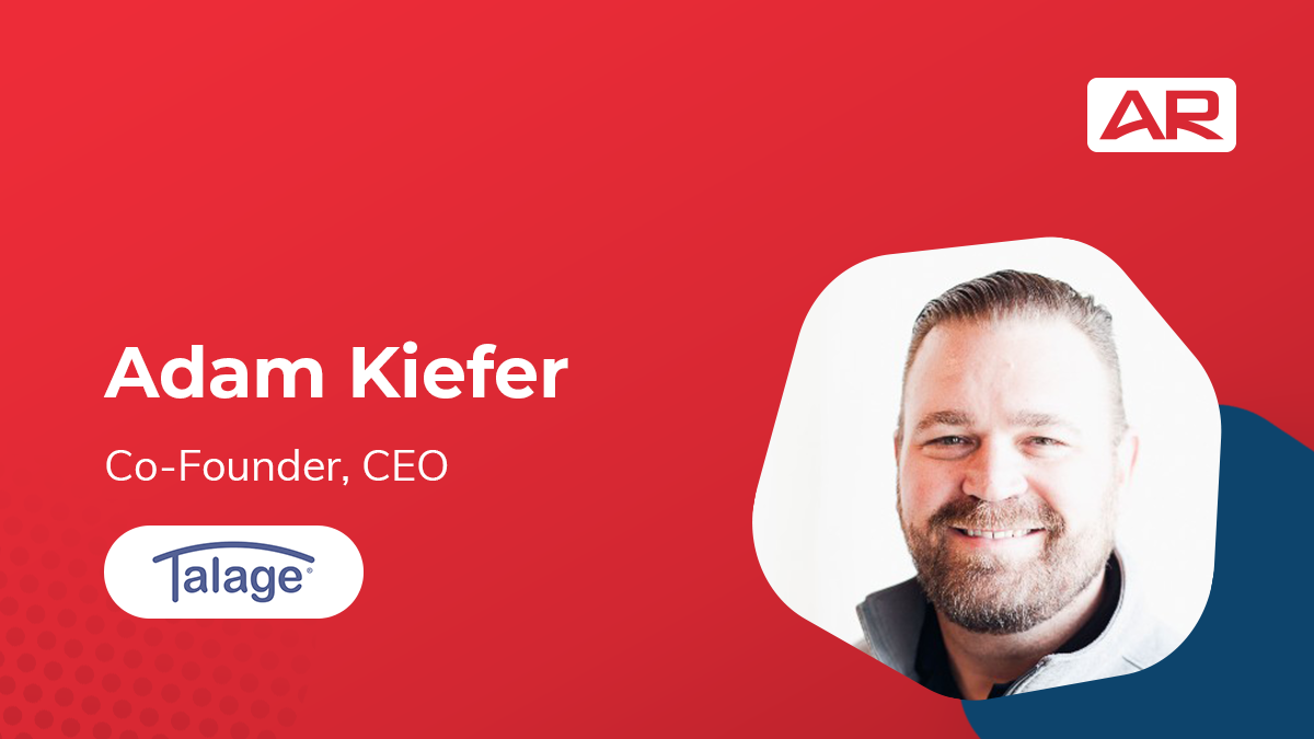 Adam Kiefer, Co-Founder and CEO of Talage on the Connected Insurance Podcast presented by Agency Revolution