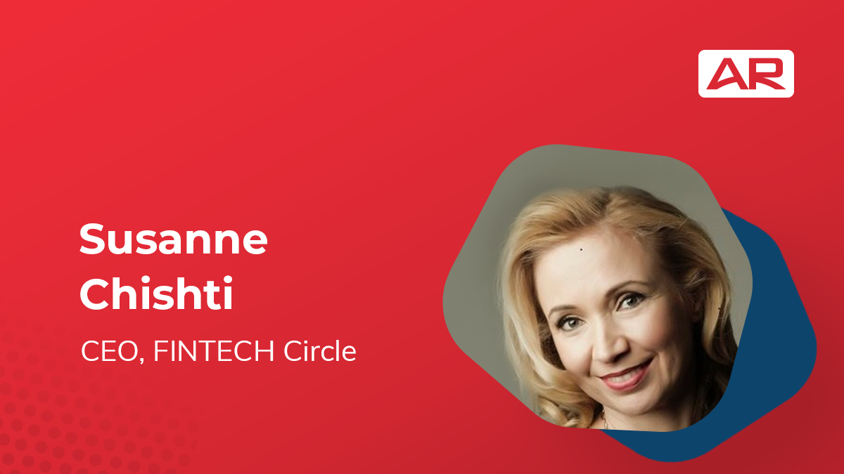 Susanne Chishti, CEO, FINTECH Circle on the Connected Insurance Podcast presented by Agency Revolution